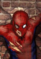 Spider-Man Detail by No-Sign-of-Sanity