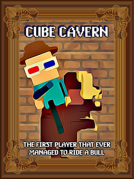 Holy fuck its yet another shitty cube cavern art! by SteampunkerDragon