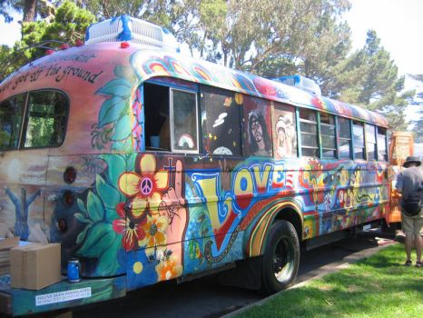 Hippie Mobile by bwphotograph