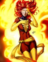 X-MEN: Dark Phoenix by Chouaart