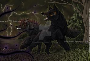 Against the Darkness (2012) by StarkHolmes