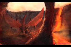 Red Dragon by bustercloud