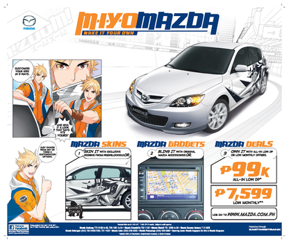 Mazda Make It Your Own Ad 2 by mangaholix