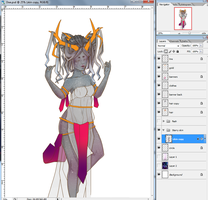 Zodiac Beauty WIP Color Swap by Bunneahmunkeah