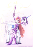 Amethyst partners by Cheshiresdesires