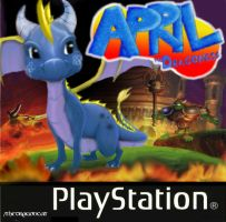 .:April:. PS1 Spyro Cover by TheDragonCat