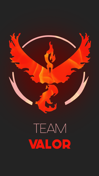 [Device Wallpaper] Team Valor by RicePoison