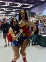 Wonder Woman x2 by Kixet