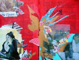 altered book next page by irenche