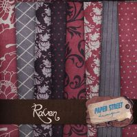 raven-paper street designs by paperstreetdesigns