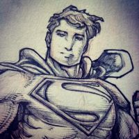 WB Superman (WIP) by emmshin