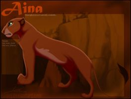 Aina Character Reference by LanieJ