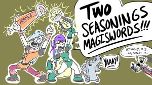 Mighty MagiSwords renewed for Season 2 by artbylukeski