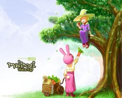 Wallpaper - Mabinogi by Evaty