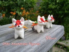 Amaterasu Figures by CynicalSniper