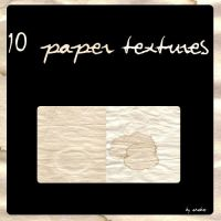 10 Paper Textures by KrisPS