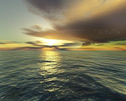 Terragen - Waiting For Elysium by tigaer