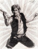 Han Solo - Never tell me the odds! by ChrisHdzArt