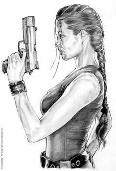 TOMB RAIDER - Angelina Jolie by tomjogi
