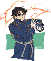 Roy Mustang by zerostop