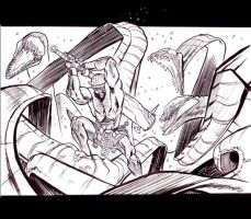 Bed of Snakes by JHarren