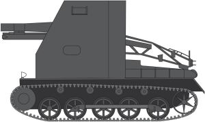 Panzer 1 B Sturmpanzer Bison by billy2345