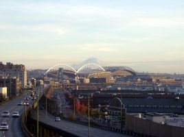 Mt. Rainier From Seattle by MAGMADIV3R