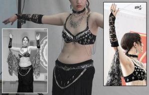 Tribal Fusion costumes: Gothic by Condemned-To-Love