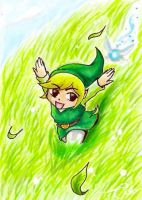 Green Hills-Link [ATC #5] by SeraphEdo