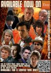 The Twelve Doctors Print by westleyjsmith