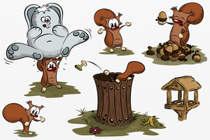 Pickle and the missing Acorns by AndyCarolan