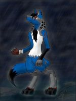 Blizzard - the rain by RedNightCrawler