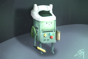 BMO The Human by b3azt