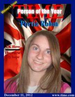 Time Magazine Person of the Year 2012: Portia Rohm by JanetAteHer