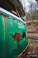 Trolley Graveyard - 3261 II by cjheery