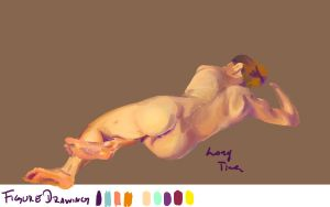 Figure Drawing 4-18-11 by PsycArtist