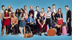 Glee four season wallpaper by MonsterGleek