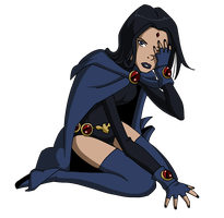 YJ: Raven by Glee-chan