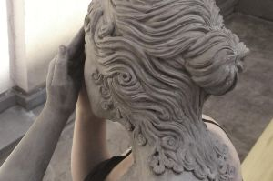Weeping angel makeup back by made-me-a-monster