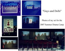 Guys and Dolls set by TerrifyingLint