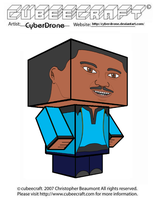 Cubeecraft - Lando Calrissian by CyberDrone