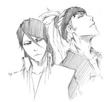 BLEACH: sketch by Sideburn004