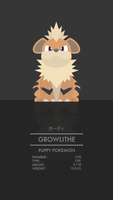 Growlithe by WEAPONIX