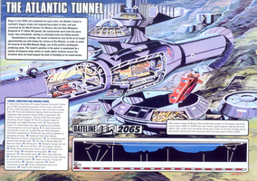 Thunderbirds Atlantic Tunnel by ArthurTwosheds
