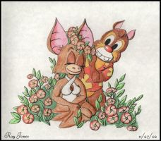 Dale and Foxglove by RayJones