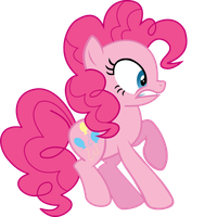 Pinkie scared by hokutto