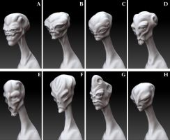 WIP - Alien concepts by Kirinov
