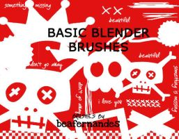 Basic Brushes for Blenders by beafernandes