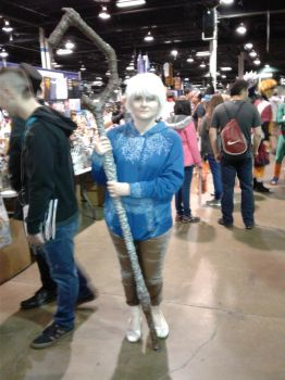 Anime Central 2017 Cosplay :  ROTG Jack Frost by blueappleheart89