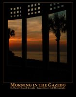 Morning in the Gazebo by Isquiesque